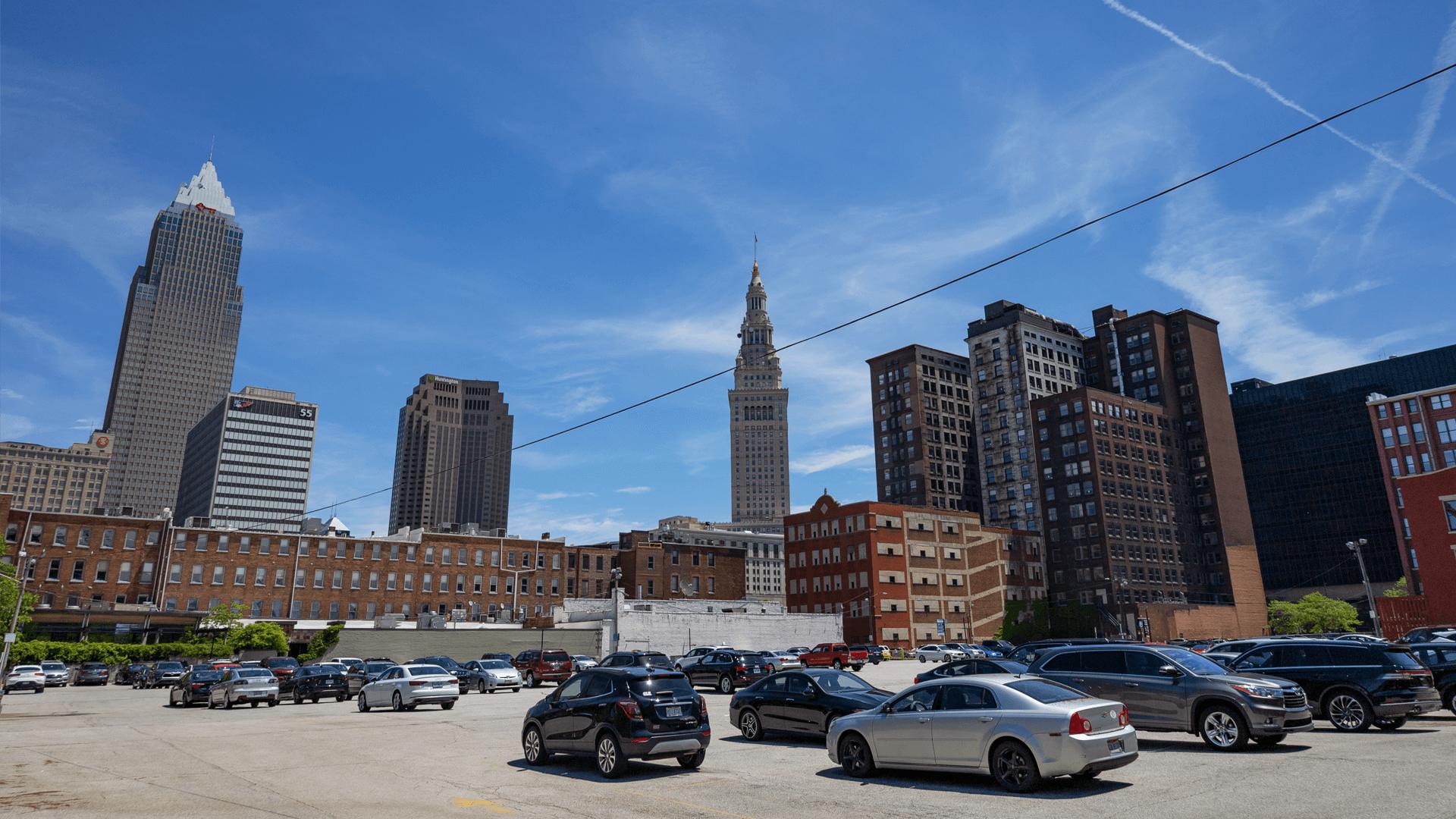 West 9th Parking Lot